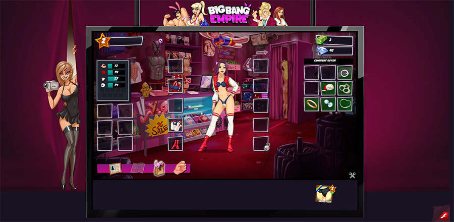 Big Bang Empire gameplay screenshot