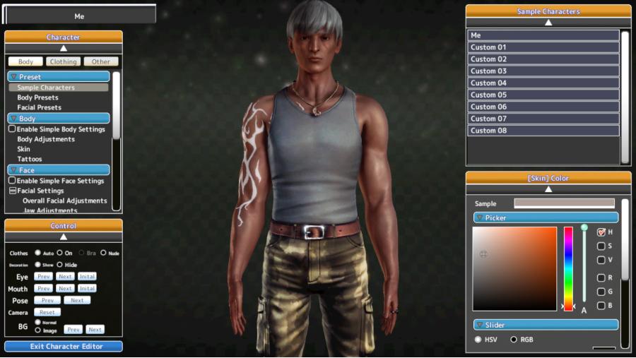 Honey Select characters 3