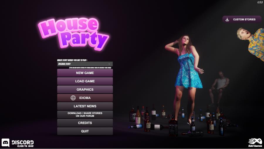 House Party scene 1