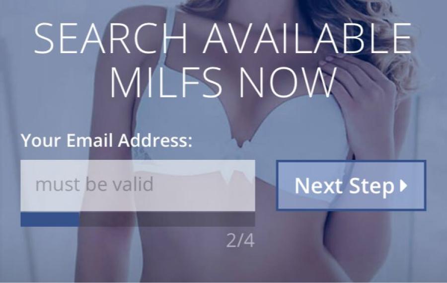 Milfaholic registration 1
