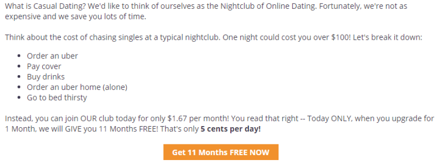 OnlineBootyCall prices