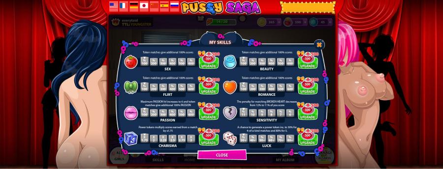 Pussy Saga gameplay 4